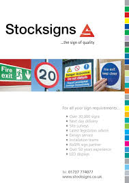 stocksigns 2013 catalogue by stocksigns issuu