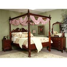 Victorian Canopy Bed Lovely Victorian Renaissance Queen Canopy Bed 1514485