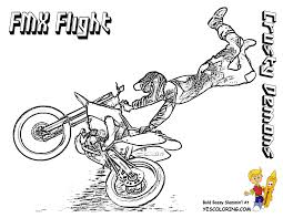 dirt bike coloring pages motorbike coloring pages free