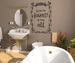 vinyl wall decal sticker mirror mirror on the wall os dc619