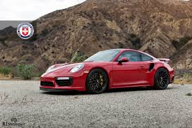 black porsche 911 turbo porsche 911 turbo with hre rc100 in gloss black hre performance