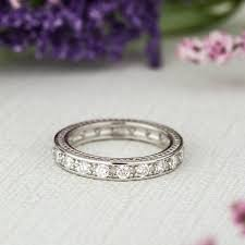 kate wedding ring etsy engraved eternity wedding band kate upton wedding ring