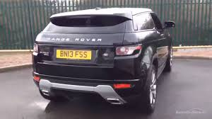 land rover range rover evoque black land rover range rover evoque sd4 dynamic black 2013 youtube