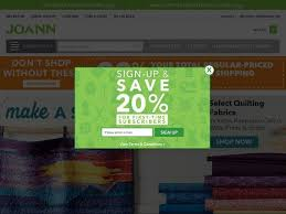 joann fabrics website joann coupons and promo codes april 2018