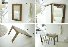 collapsing dining table collapsing dining table folding table for space saving interior