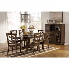 furniture ashley furniture porter collection uses a deep finish