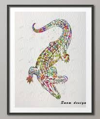 buy alligator art and get free shipping on aliexpress com