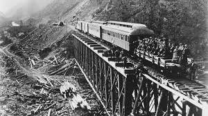 transcontinental railroad is completed may 10 1869 golden
