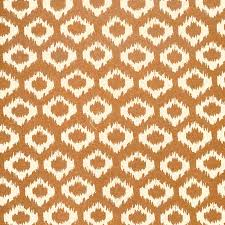 copper wrapping paper ikat ogee print lokta paper copper on