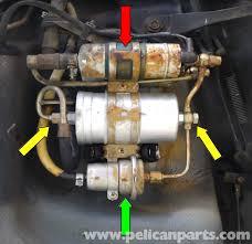 mercedes benz 190e fuel filter replacement w201 1987 1993