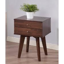 jones wenge 2 drawer nightstand free shipping today overstock