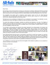 thank you letter to pcv advisor chuck sinks pacific community