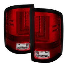 fiber optic tail lights ruby red led and fiber optics tail light for 14 15 1500 15 16