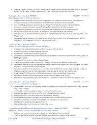 Sample Resume Senior Software Engineer by 28 Senior Software Developer Resume Resume Sample For A