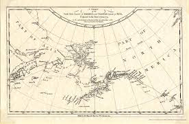 Map Of North East America by Bering Sea And North Pacific Regional Maps