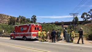 Sigalert San Diego Map by 3 Dead 1 Hurt After Car Being Pursued By Border Patrol Flips On I