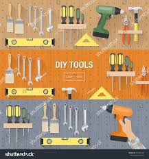 Diy Home Renovation by Diy Tools Carpentry Home Renovation Hanging Stock Vector 257248168