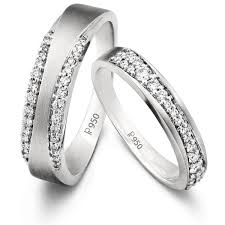 platinum bands rings images Complementary platinum love bands with pathways sj pto 211 jewelove jpg