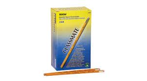 classmate pencils pencils classmate hb tipped connors basics