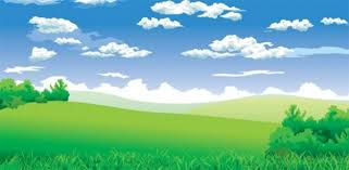 peaceful summer day vector landscape welovesolo