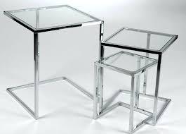 bout de canapé en verre table bout de canape en verre bout de canap en verre meubles v