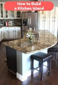 how to build an kitchen island to build a kitchen island