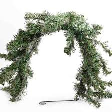 Christmas Mailbox Decoration Greenery by Artificial Canadian Pine Mailbox Swag Artificial Greenery