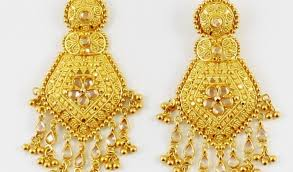 gold earrings for marriage gold earrings for wedding indian gold jewellery earrings designs