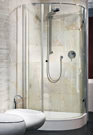 interior of new luxury bathroom with shower stock photo image