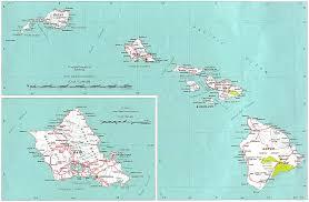 map of hawaii island reisenett hawaii maps