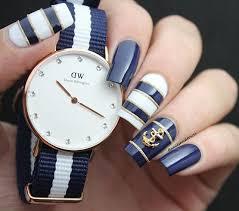 best 25 blue gold nails ideas on pinterest royal blue nails