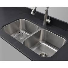 home depot double stainless steel sink kitchen elegant home depot stainless steel double bowl undermount