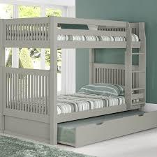 Bunk Beds Trundle Camaflexi Bunk Bed With Trundle Reviews Wayfair