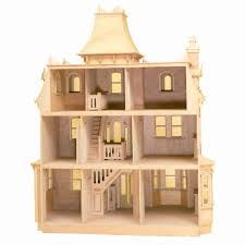 Dollhouse Floor Plans Greenleaf Beacon Hill Dollhouse Kit 1 Inch Scale Walmart Com