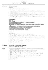resume tips and exles courier resume sles velvet