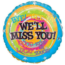 inflated balloon delivery we ll miss you messages balloon delivered inflated in uk