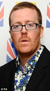 frankie boyle named most offensive stand up by fellow comedians