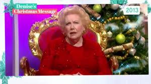 this morning viewers in tears watching denise robertson u0027s iconic