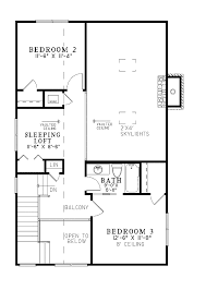Cabin Blueprint by 2 Bedroom Cottage House Plans
