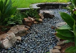 Drainage Ideas For Backyard Dry Creek Drainage Solution Neave Storm Water Gardening