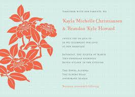 pdf wedding invitations retro floral wedding invitation