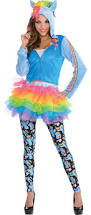 create your own women u0027s rainbow dash costume accessories party city