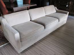 beige tweed sofa sold u2013 ballard consignment