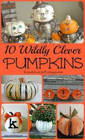 clever pumpkin off the vine pumpkin crafts