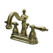 antique brass bathroom sink faucets you u0027ll love