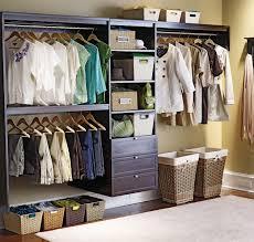 Best Closet Storage by Best Clothes Organizer Storage Ideas Comes With Veneer Dark Brown