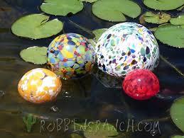art glass fish ring holder images Hand blown glass pond floats robbins ranch art glass jpg