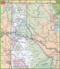 Montana State Map Map Of Idaho And Montana Inside Roundtripticket Me