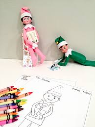 elf on the shelf free snowman printable smudgey