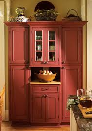 kitchen armoire cabinets turn armoire into kitchen pantry love this color with black or